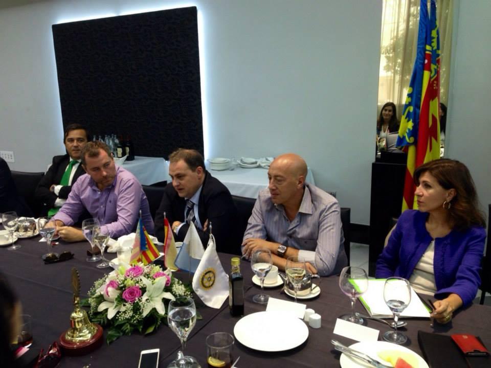 Juan Ramón Gil en nuestro Club _ 25 de sept 2014