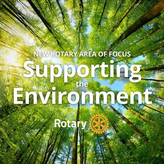 El apoyo al medio ambiente, nueva área de enfoque de Rotary