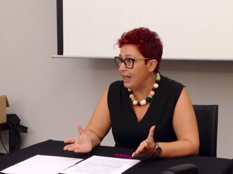 Mª Ángeles Moraga: conferencia sobre violencia de género_ 18 sept 2014