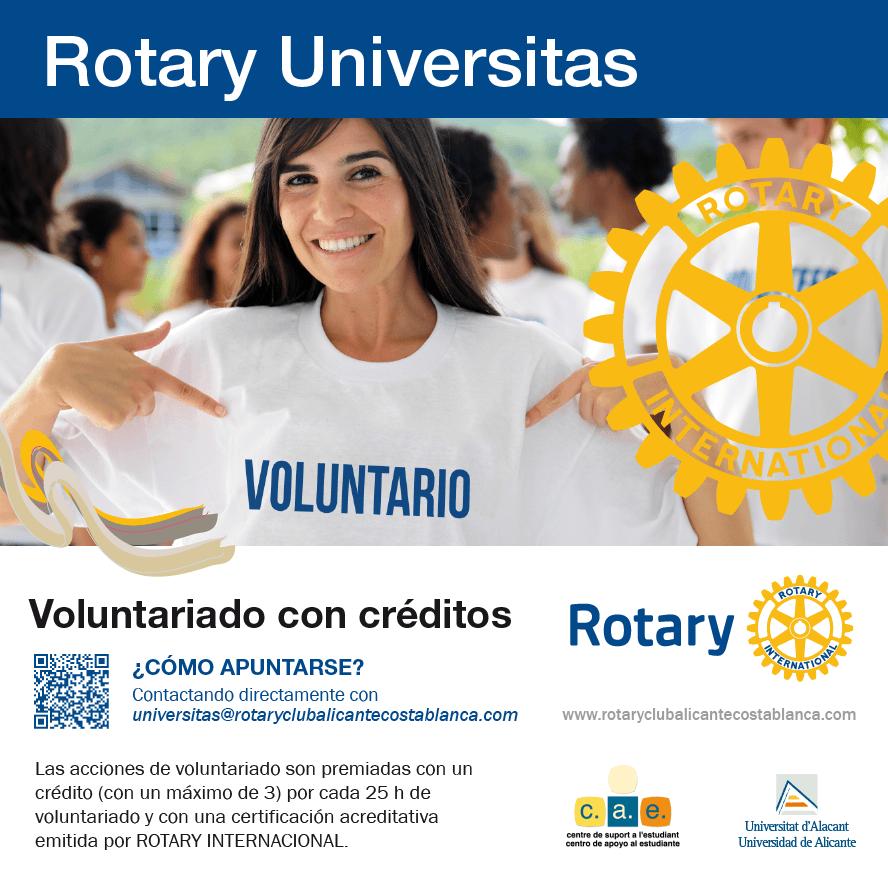 Lanzado el proyecto Rotary Universitas en la UA!