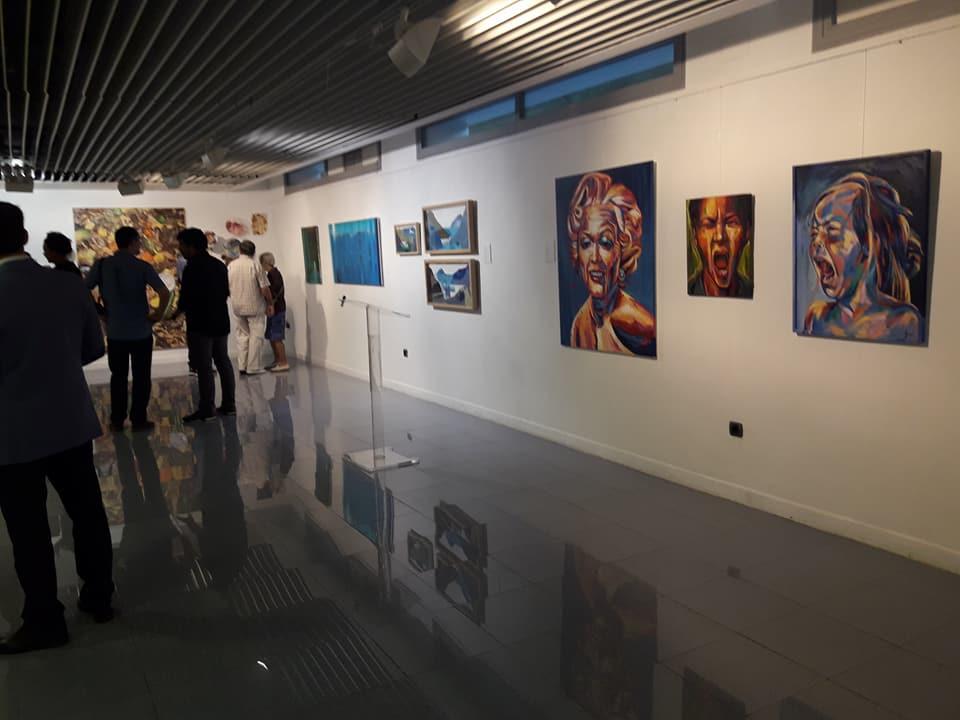 Repercusión de Arte Solidario en el periódico Información