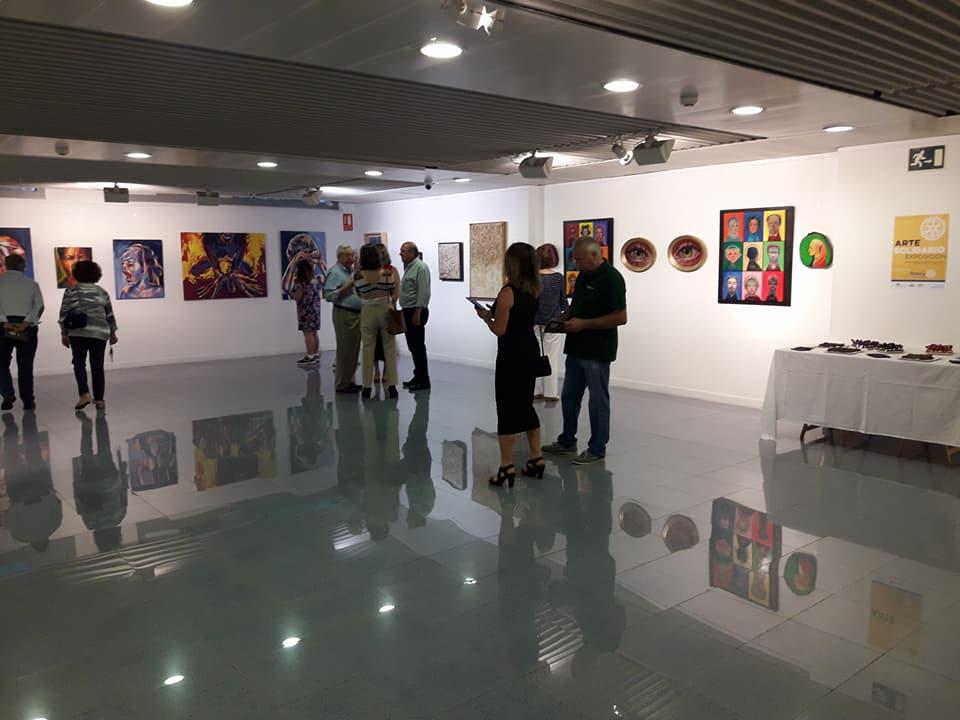 Inauguración de Arte Solidario en Alicante