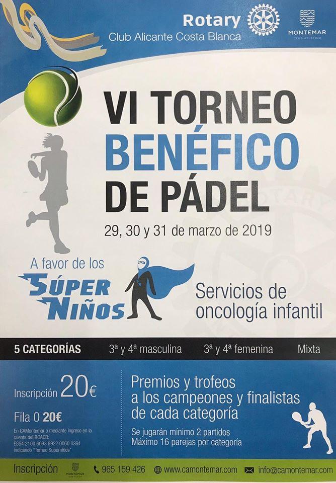 VI Torneo Solidario a favor de los Súper Niños