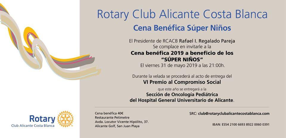 VI Premio Compromiso Social al personal sanitario Sección de Oncología Infantil del Hospital General de Alicante.