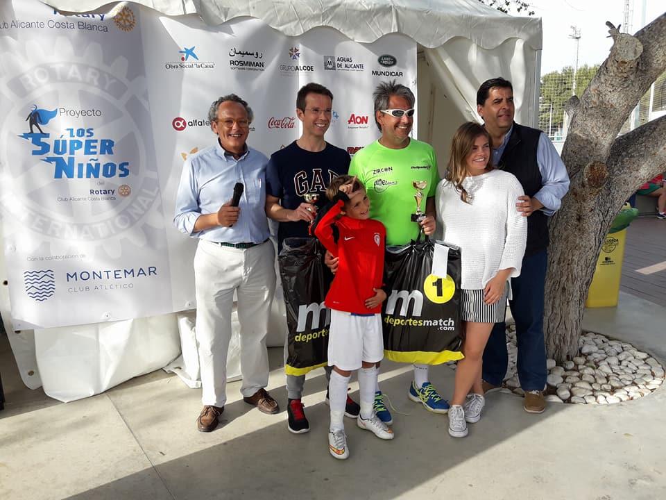 Premiados V Torneo Benéfico de Padel a favor de los Súper Niños