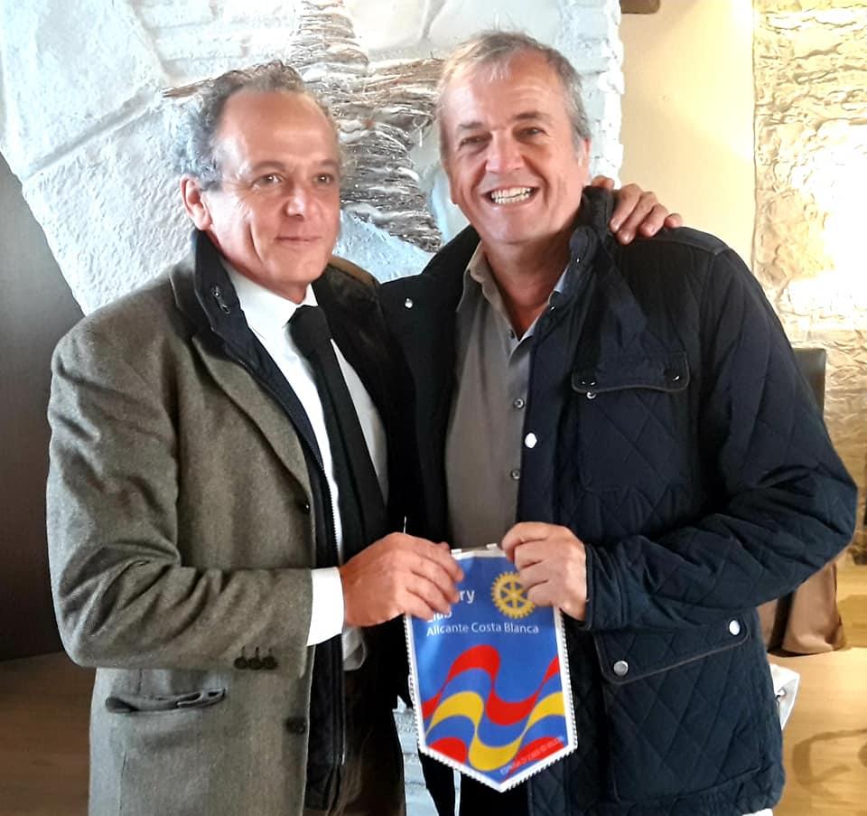Recibimos la visita de socios del Rotary e-Club del Mediterráneo