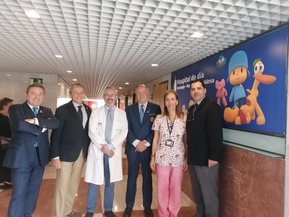 El DG2203 de Rotary Internacional con los Súper Niños en Alicante