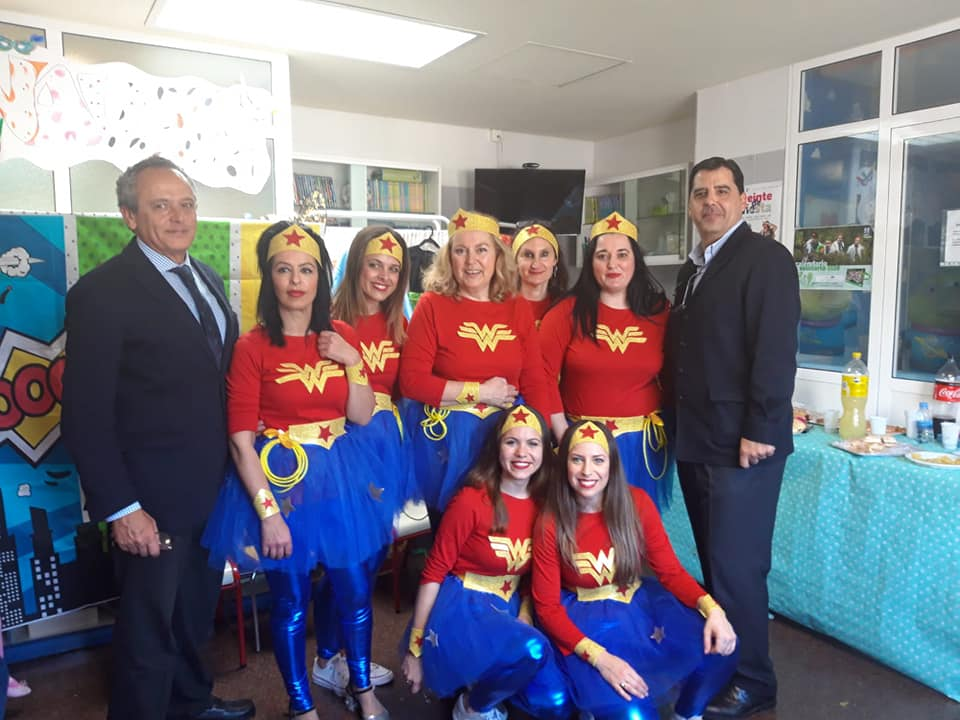 celebramos el Carnaval con los Súper Niños