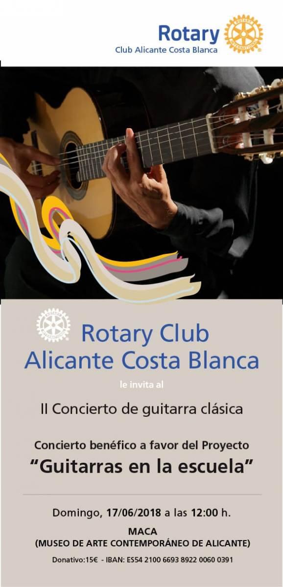 II Concierto Benéfico Guitarras en la escuela