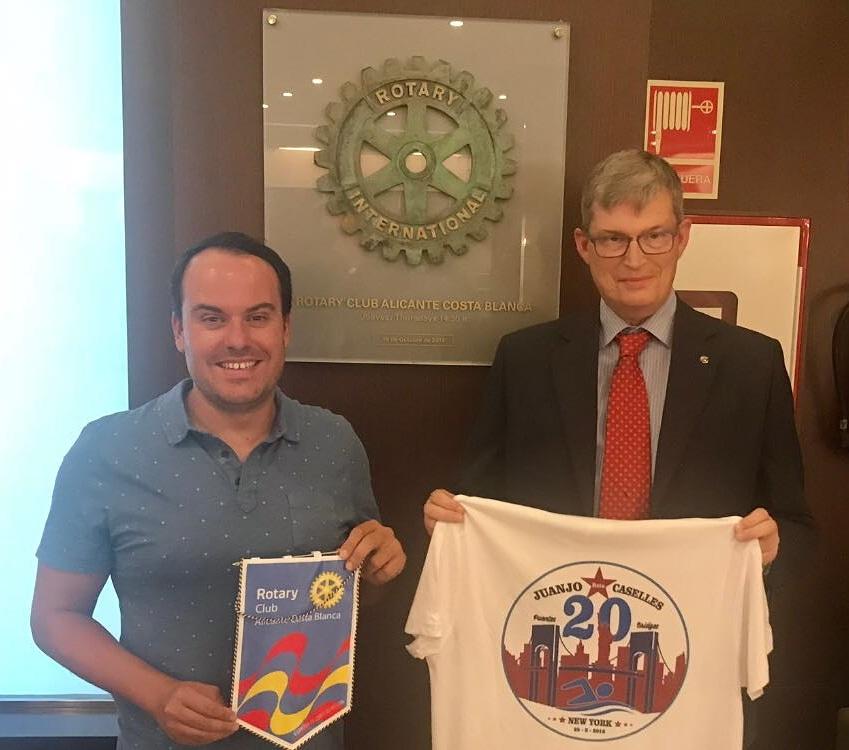 Apoyamos y patrocinamos a Juan Jose Caselles en su reto Mil+1 de Orihuela a Manhattan.