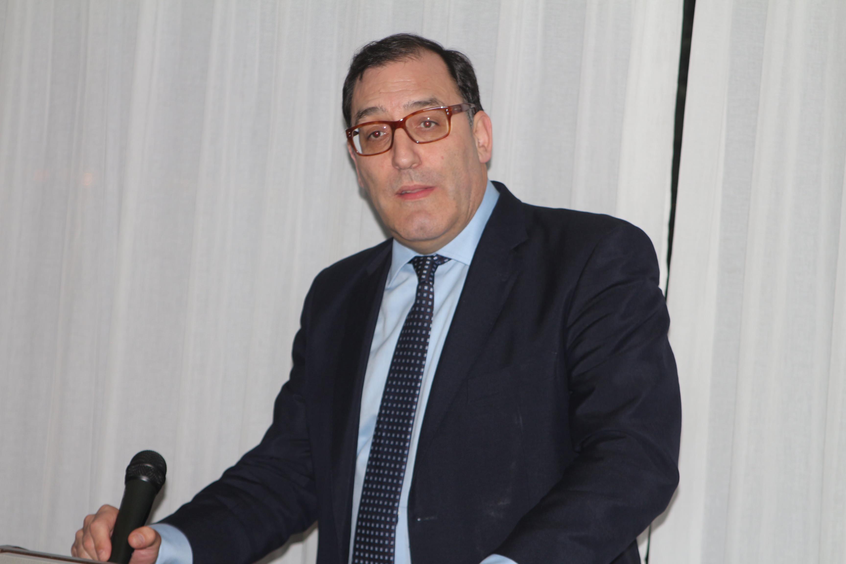 Eloy Velasco, juez de la audiencia nacional en nuestro club