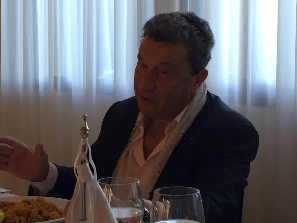 Visita de Jaime Carbonell, presidente del Rotary Club de Benidorm