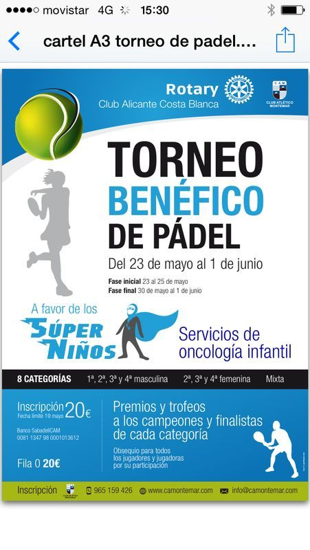 Torneo de padel 2014_Superniños