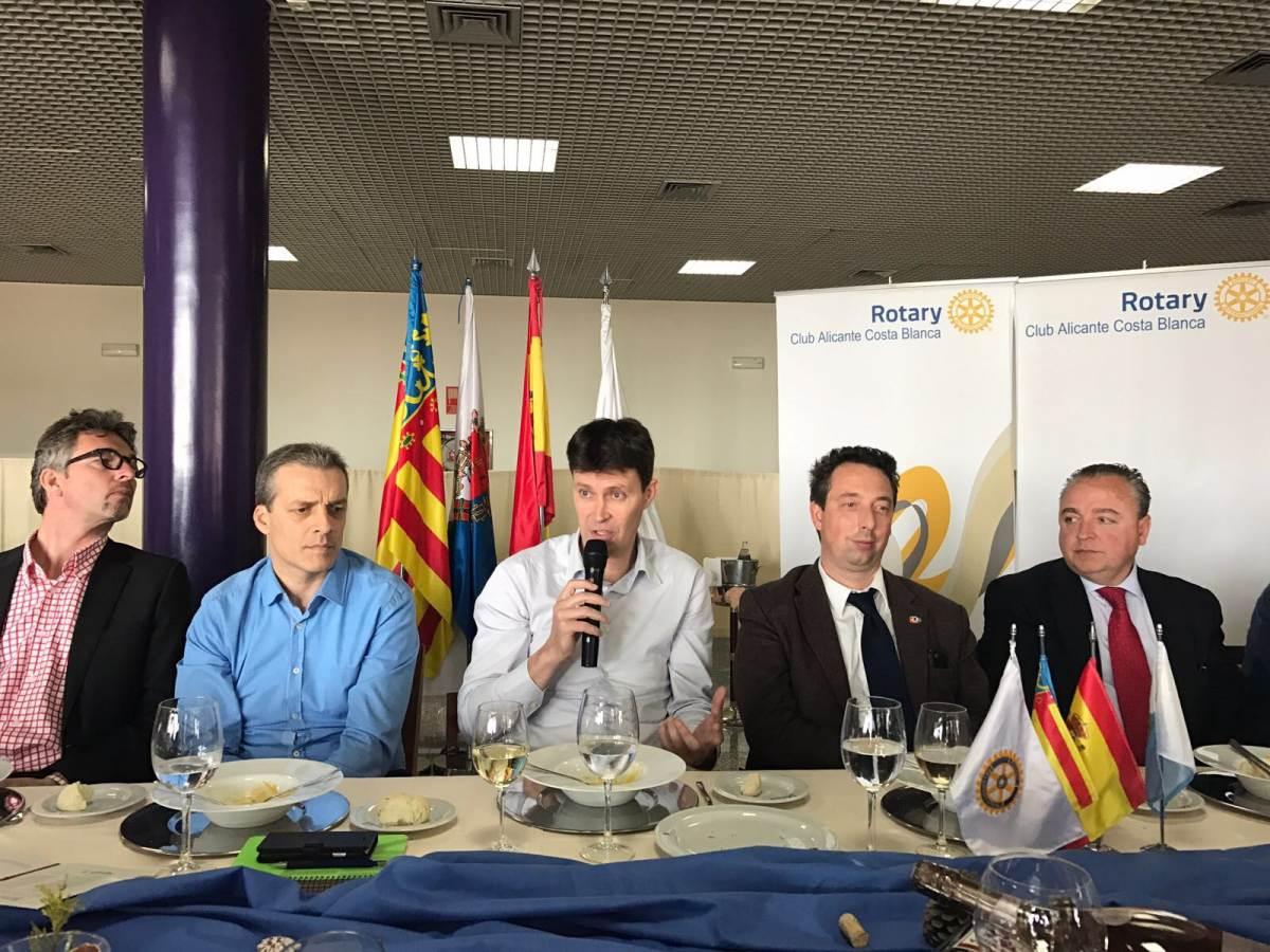 Comida CdT con Tony Gallego, Presidente de la Fundación Lucentum