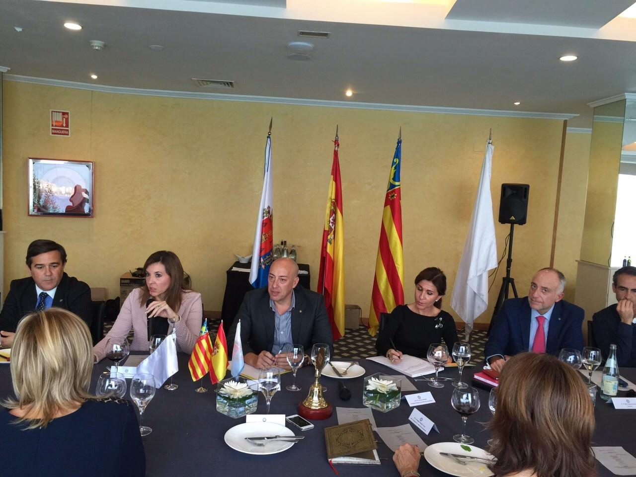 Visita de Mercedes Alonso García, Alcaldesa de Elche