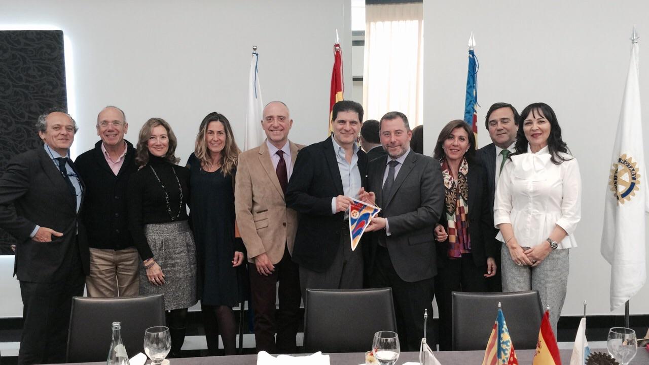 Juan Carlos Padilla en el RCACB
