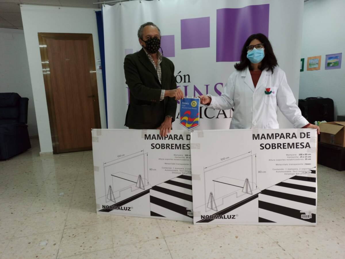 Con la Asociación Parkinson en Alicante