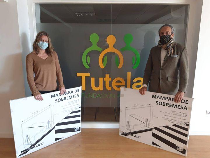 Con la Fundación Tutela Alicante