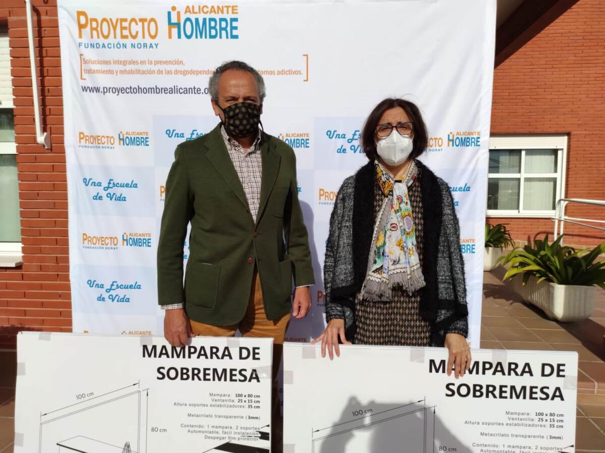 En la Asociación Proyecto Hombre en Alicante