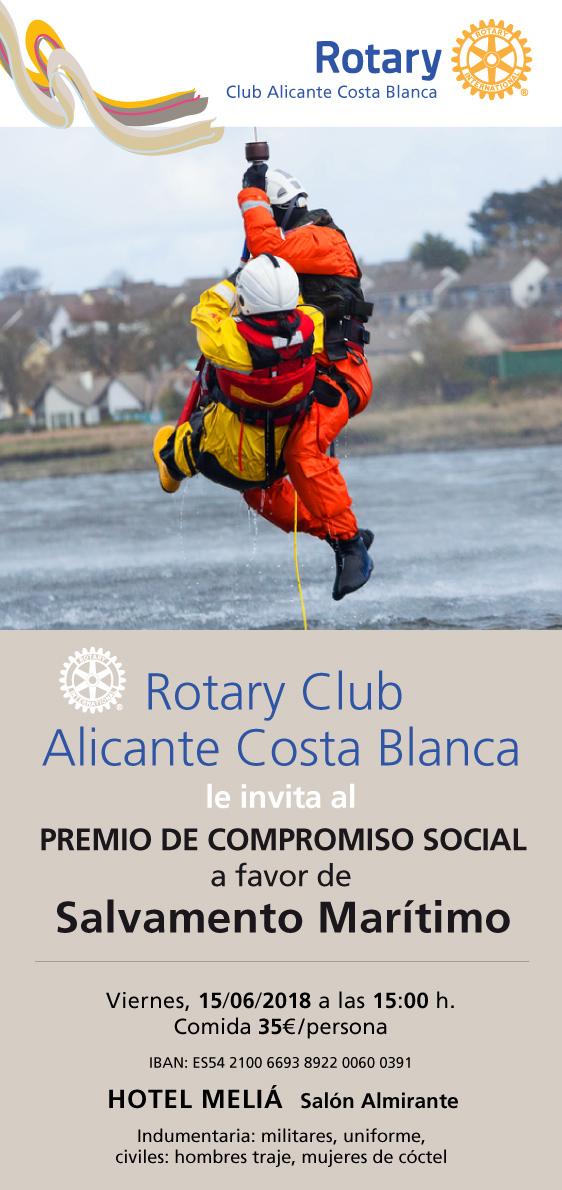 Salvamento Marítimo Premio Compromiso Social 2018