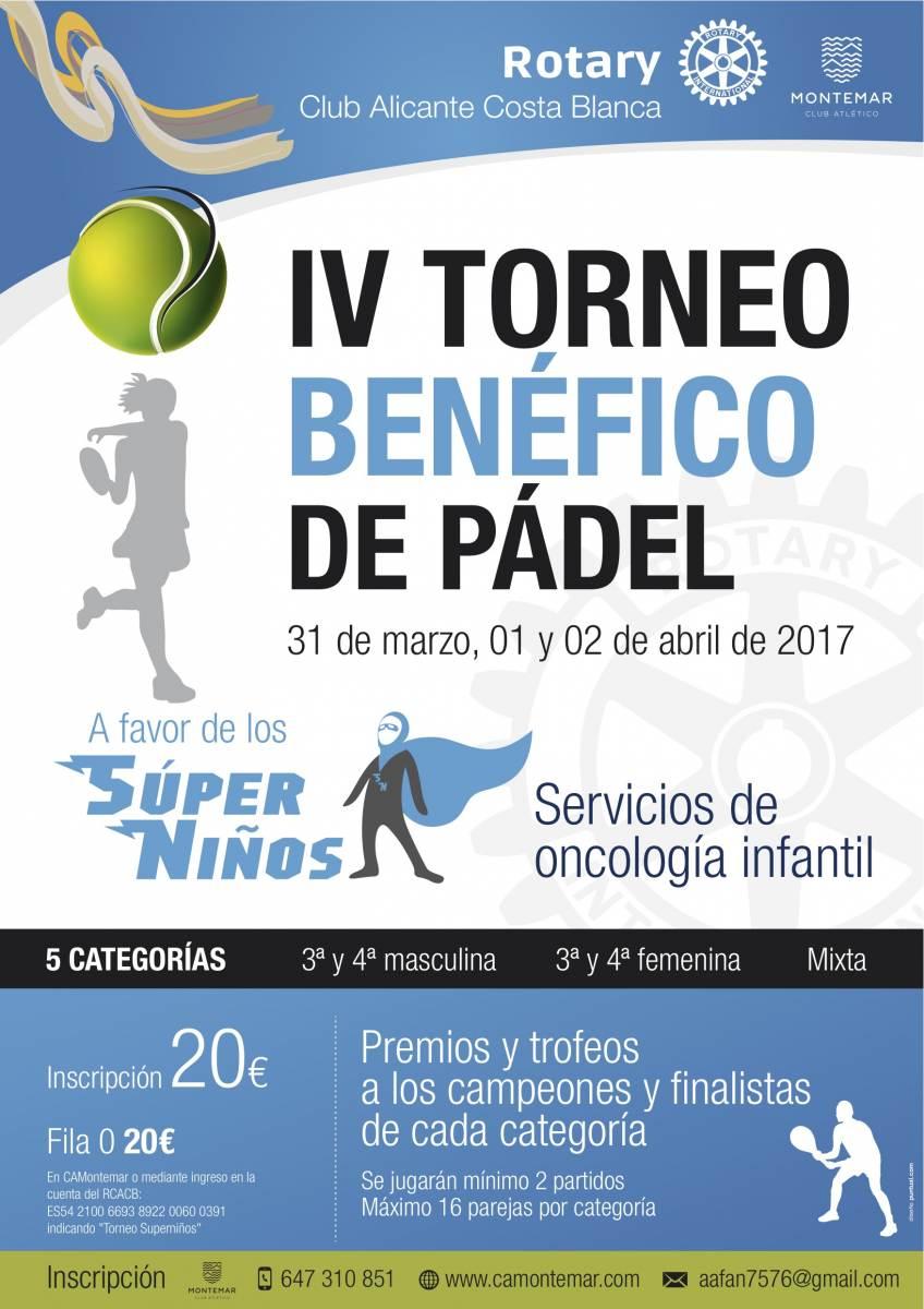 IV TORNEO DE PÁDEL SÚPERNIÑOS 2017: hablan del torneo