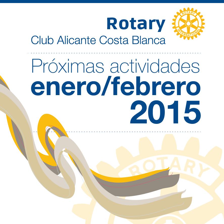 Calendario actualizado de actividades enero-febrero 2015