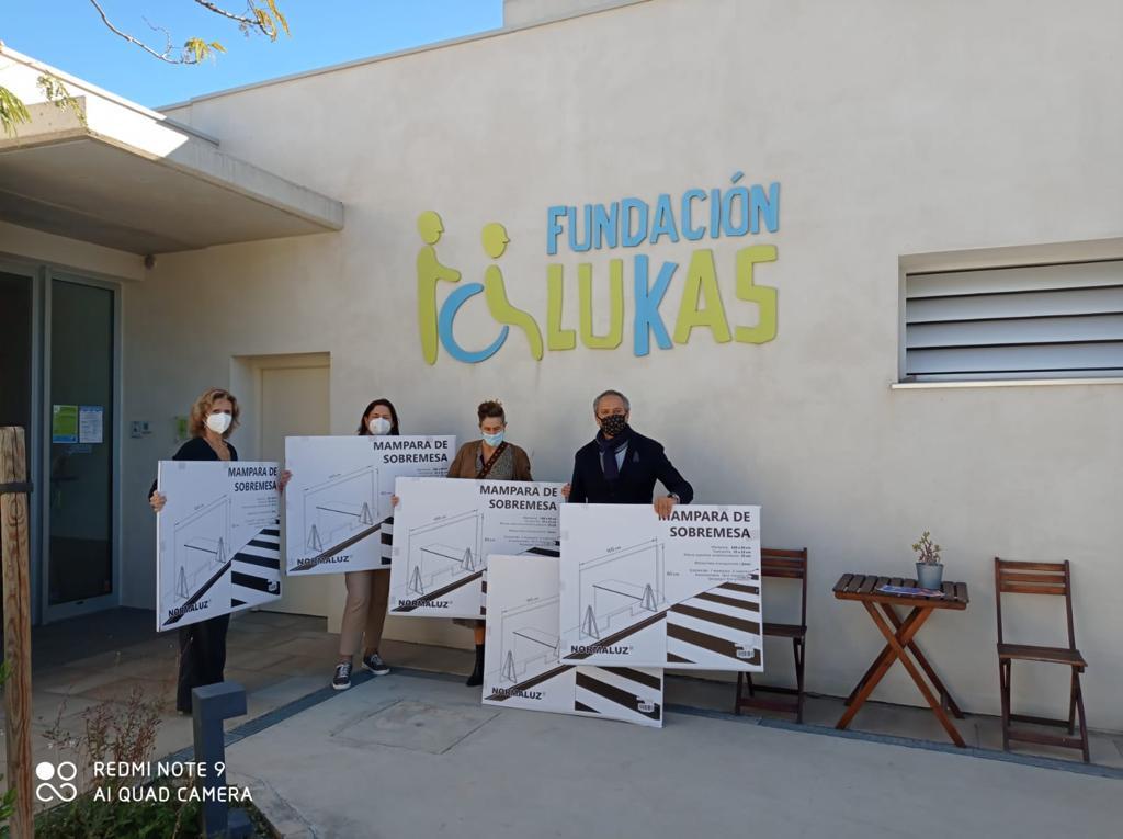 Solidarizados con la Fundación Lukas