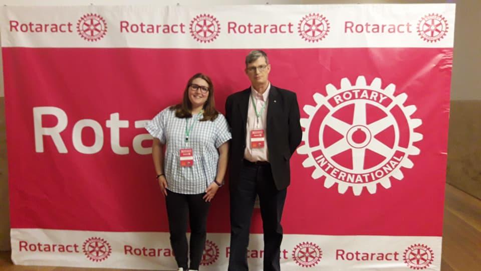 Participamos en la Asamblea de Rotaract en su 50 Aniversario